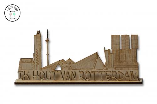 Skylinr van Rotterdam