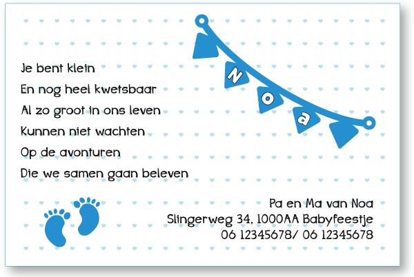 Gratis kraamkaartje bij onze houten geboortekaartjes