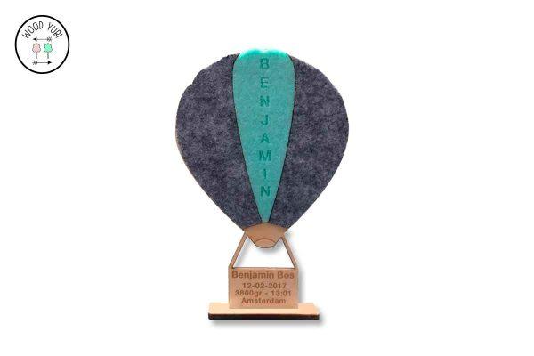 Geboortekaartje Luchtballon