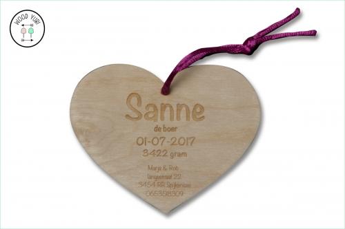 Houten-Label-GeboortekaartjeSanne