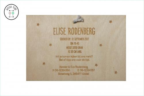 Houten-Label-Geboortekaartje-met-Vilt-Elise