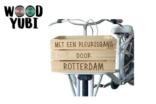 Houten Fietskrat Rotterdam