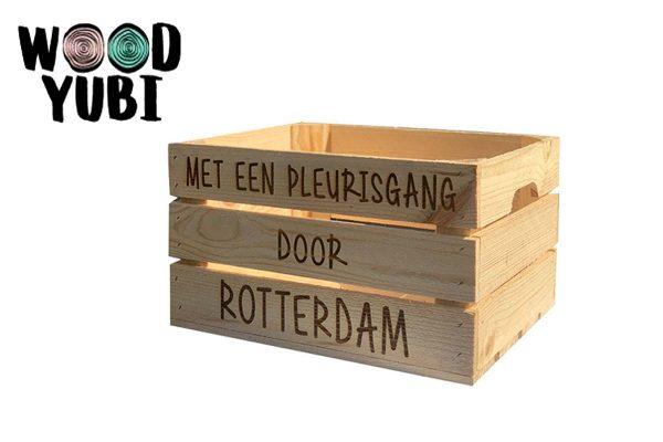 Houten Fietskrat, de nummer 1 in Rotterdam