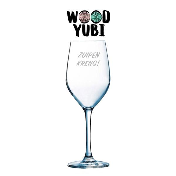 Wijnglas Zuipen kreng