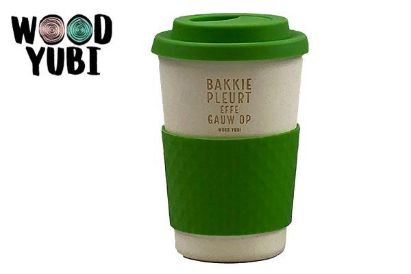 Koffiebeker 1 Bakkie Pleurt Effe Gauw Op