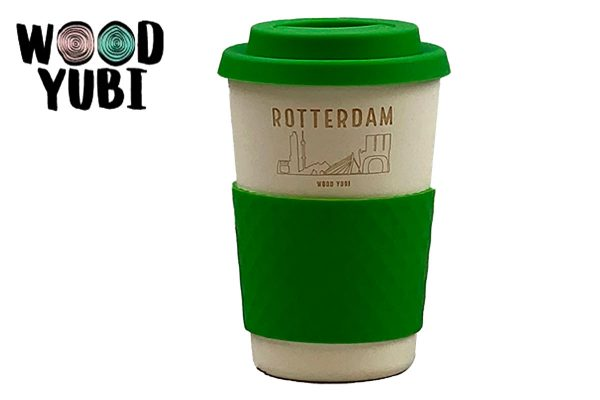 Koffiebeker 4 Rotterdam SkylineKoffiebeker 4 Rotterdam Skyline