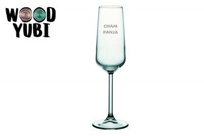 Champagneglas Cham panja
