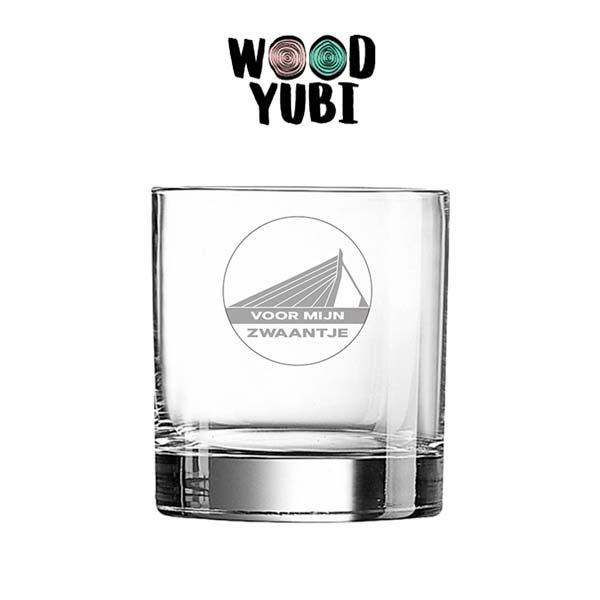 Whiskeyglas Voor mijn zwaantje