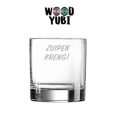 Whiskeyglas Zuipen Kreng