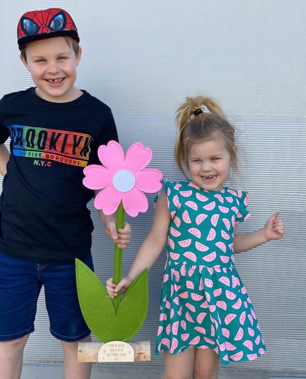 kids en bloem