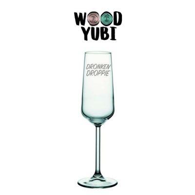 Champagneglas Dronken Droppie