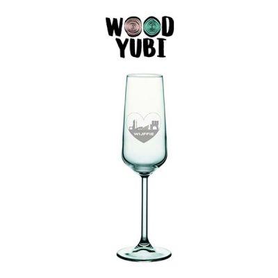 Champagneglas Wijffie 1