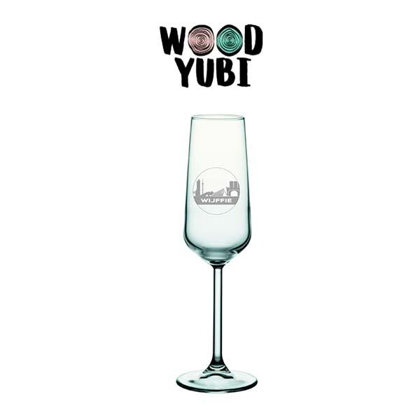 Champagneglas Wijffie 2