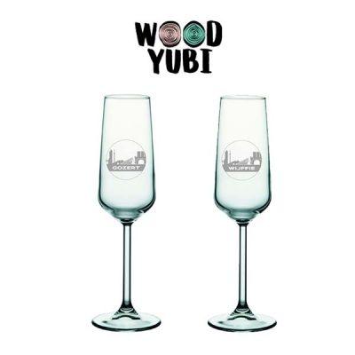 Champagneglas Valentijn 2