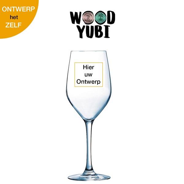 Wijnglas Eigen ontwerp