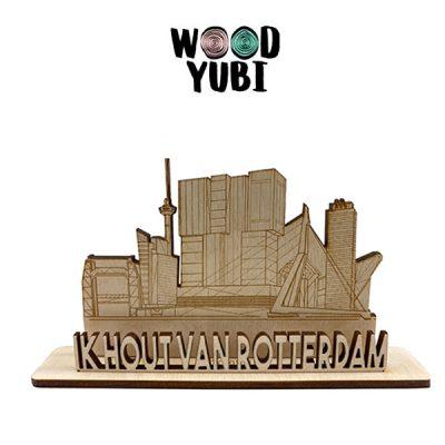 Wenskaart Ik hout van Rotterdam